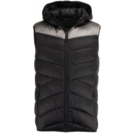 Men's quilted vest - ALPINE PRO PURR - 1