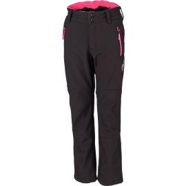 Lewro ORES - Dievčenské softshellové nohavice