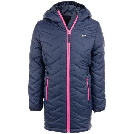 ALPINE PRO MATERASO - Детско капитонирано палто