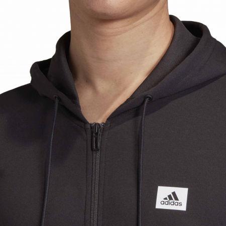 Pánska športová mikina - adidas DESIGNET TO MOVE MOTION HOODED TRACKTOP - 8
