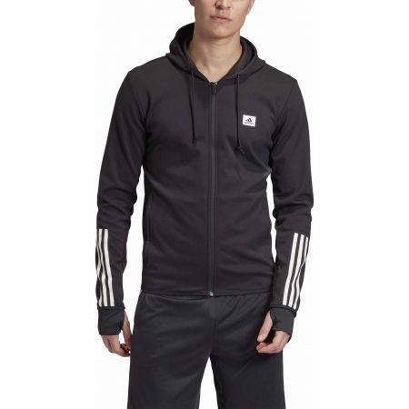 Bluza sportowa męska - adidas DESIGNET TO MOVE MOTION HOODED TRACKTOP - 3