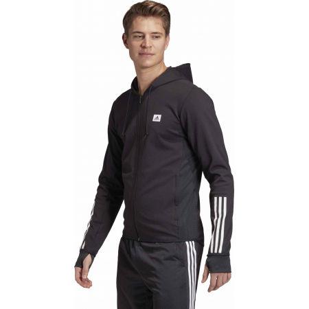 Bluza sportowa męska - adidas DESIGNET TO MOVE MOTION HOODED TRACKTOP - 5