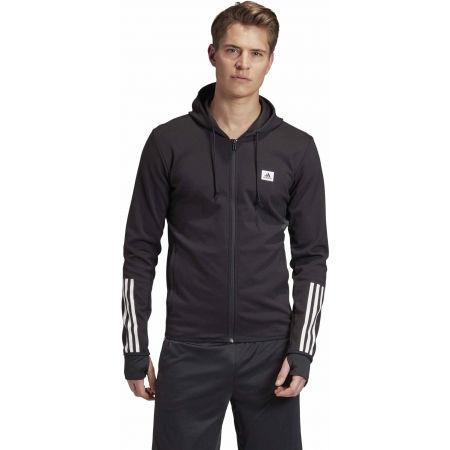Bluza sportowa męska - adidas DESIGNET TO MOVE MOTION HOODED TRACKTOP - 4
