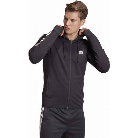 Bluza sportowa męska - adidas DESIGNET TO MOVE MOTION HOODED TRACKTOP - 6