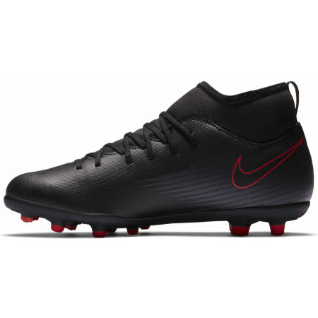 Ghete de fotbal băieți - Nike JR SUPERFLY 7 CLUB FG/MG - 2
