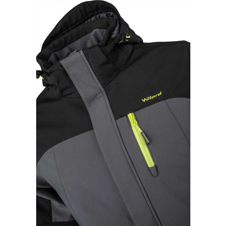 Men's softshell ski jacket - Willard ROC - 4