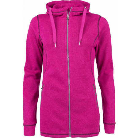 Willard DELLA - Women's fleece sweatshirt in pullover design