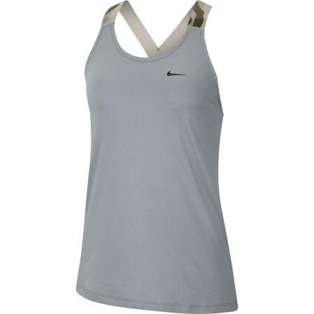 Nike NP TANK ELASTIKA PP2 CAMO W - Dámské sportovní tílko