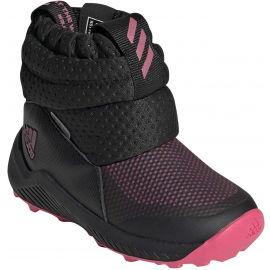 adidas RAPIDASNOW I - Dětská zimní obuv