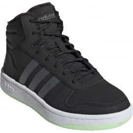 adidas HOOPS MID 2.0 K - Detská zimná obuv