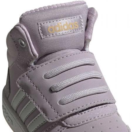 Obuwie miejskie dziecięce - adidas HOOPS MID 2.0 I - 7
