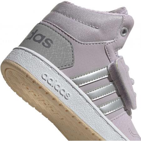 Obuwie miejskie dziecięce - adidas HOOPS MID 2.0 I - 8