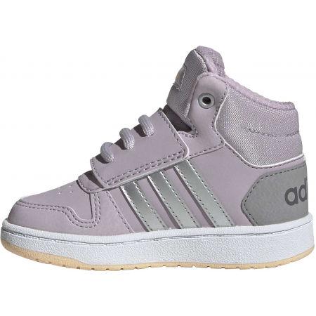 Obuwie miejskie dziecięce - adidas HOOPS MID 2.0 I - 3