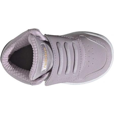 Obuwie miejskie dziecięce - adidas HOOPS MID 2.0 I - 4