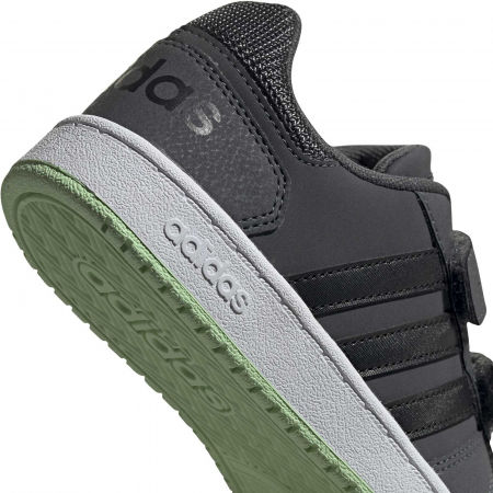 Dětská volnočasová obuv - adidas HOOPS 2.0 CMF C - 8