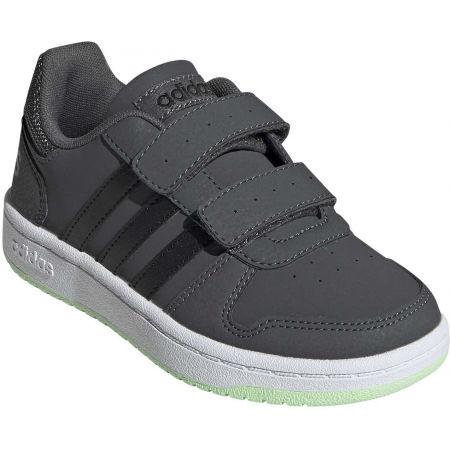 Dětská volnočasová obuv - adidas HOOPS 2.0 CMF C - 1