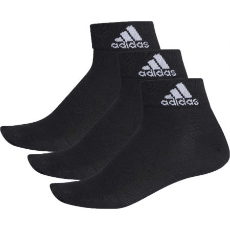 adidas PERFORMANCE ANKLE THIN 3PP - Zokni