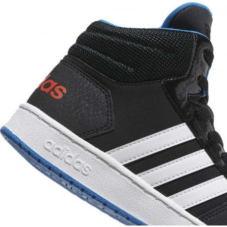 Detská voľnočasová obuv - adidas VS HOOPS MID 2.0 K - 9
