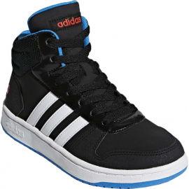 adidas VS HOOPS MID 2.0 K - Detská voľnočasová obuv