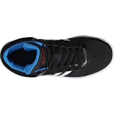 Detská voľnočasová obuv - adidas VS HOOPS MID 2.0 K - 4