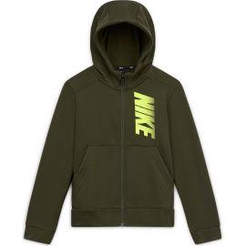 Nike B NK DRY FLC FZ GFX - Chlapecká mikina