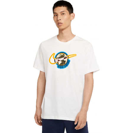 Pánské tričko - Nike NSW SS TEE SWOOSH WORLDWIDE M - 1