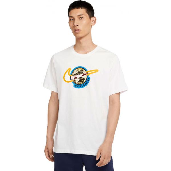 Nike NSW SS TEE SWOOSH WORLDWIDE M  XL - Pánské tričko