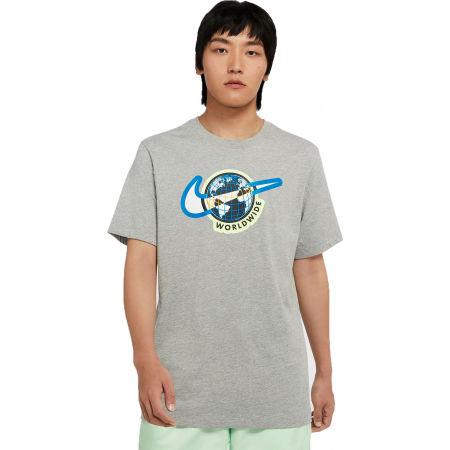 Men's T-Shirt - Nike NSW SS TEE SWOOSH WORLDWIDE M - 1
