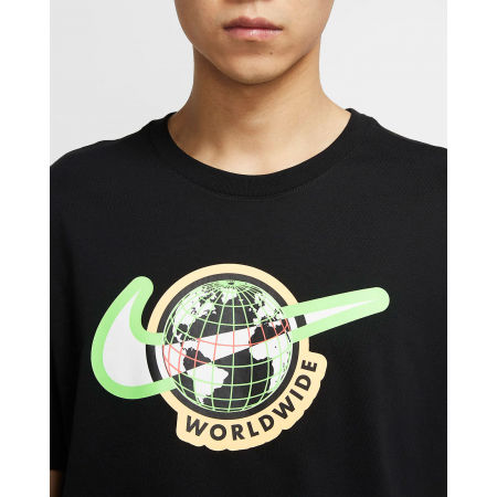 Koszulka męska - Nike NSW SS TEE SWOOSH WORLDWIDE M - 3
