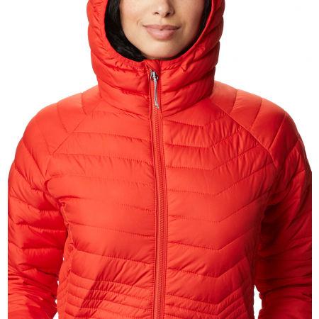 Women's long winter jacket - Columbia POWDER LITE MID JACKET - 5