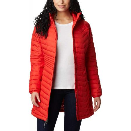 Women's long winter jacket - Columbia POWDER LITE MID JACKET - 4