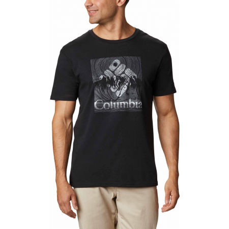 Columbia BASIN BUTTE SS GRAPHIC TEE - Herren Shirt