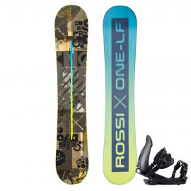 Rossignol ONE LF WIDE + CUDA M/L - Мъжки сноуборд с автомати