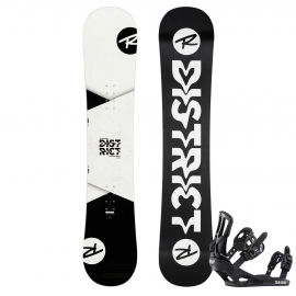 Rossignol DISTRICT WIDE + BATTLE XL - Pánsky snowboard set