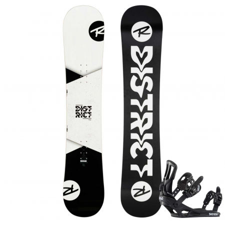 Pánsky snowboard set - Rossignol DISTRICT WIDE + BATTLE XL - 1