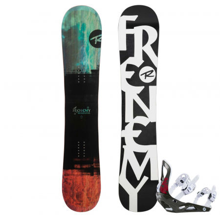 Rossignol FRENEMY + VOODOO S/M - Women's snowboard set