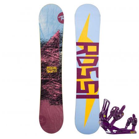 Rossignol MYTH + MYTH S/M - Women's snowboard set