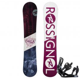 Rossignol GALA + GALA S/M - Дамски сноуборд с автомати