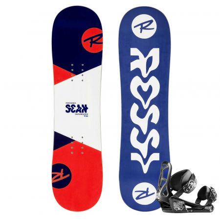 Detský  snowboardový set - Rossignol SCAN + ROOKIE S - 1