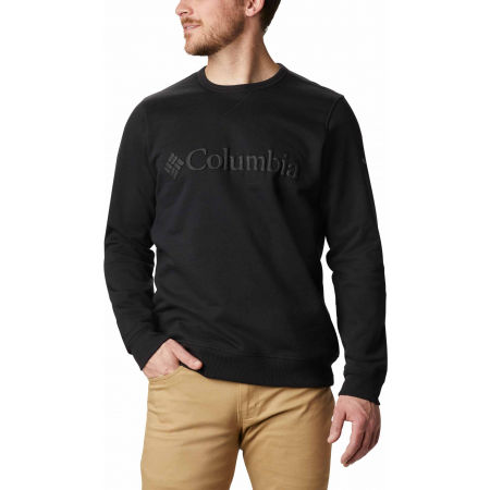Columbia M LOGO FLEECE CREW - Herren Sweatshirt