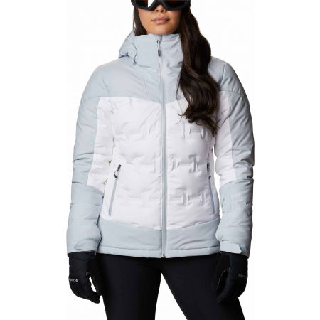 Geacă de ski damă - Columbia WILD CARD DOWN JACKET - 1