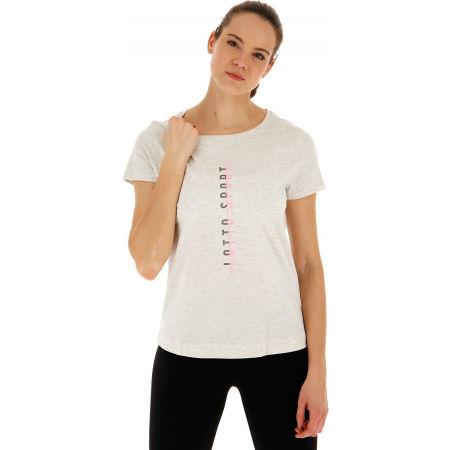 Tricou de damă - Lotto DINAMICO W III TEE PRT2 MEL CO - 4