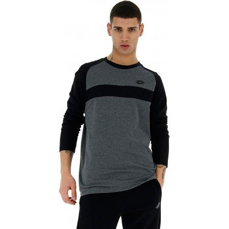 Lotto DINAMICO III TEE LS RGL MEL CO - Pánske tričko s dlhým rukávom