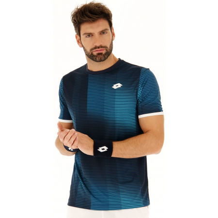 Pánske tenisové tričko - Lotto TOP TEN II TEE PRT PL - 4