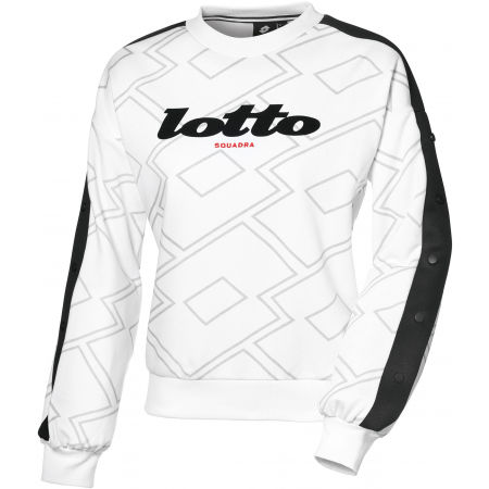 Hanorac damă - Lotto ATHLETICA CLASSIC W II SWEAT RN PRT FT - 1
