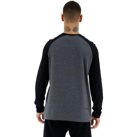Tricou cu mâneci lungi pentru bărbați - Lotto DINAMICO III TEE LS RGL MEL CO - 5