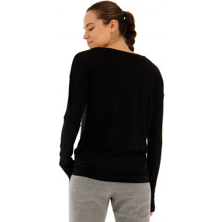 Dámske tričko s dlhým rukávom - Lotto DINAMICO W III TEE LS PRT1 VI - 5