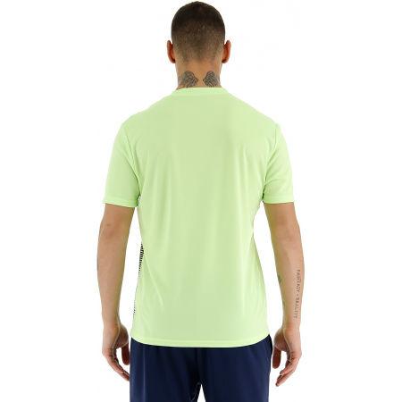 Мъжка спортна тениска - Lotto LOGO IV TEE PL - 5