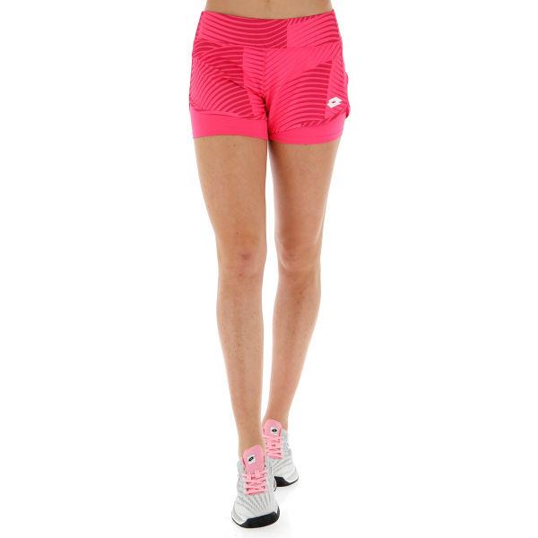 Lotto TOP TEN W II SHORT PRT PL ružová XL - Dámske tenisové šortky