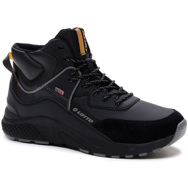 Lotto ULTRA AMF MID HD čierna 10.5 - Pánska obuv